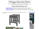 Build a Square Table
