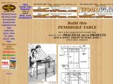 Oblong Table Plans