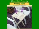 Build a Folding Table